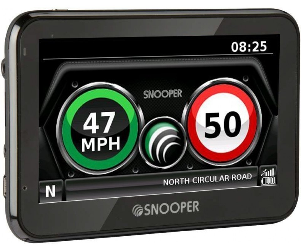 indicateurs de vitesse myspeed xl par snooper gps. Black Bedroom Furniture Sets. Home Design Ideas