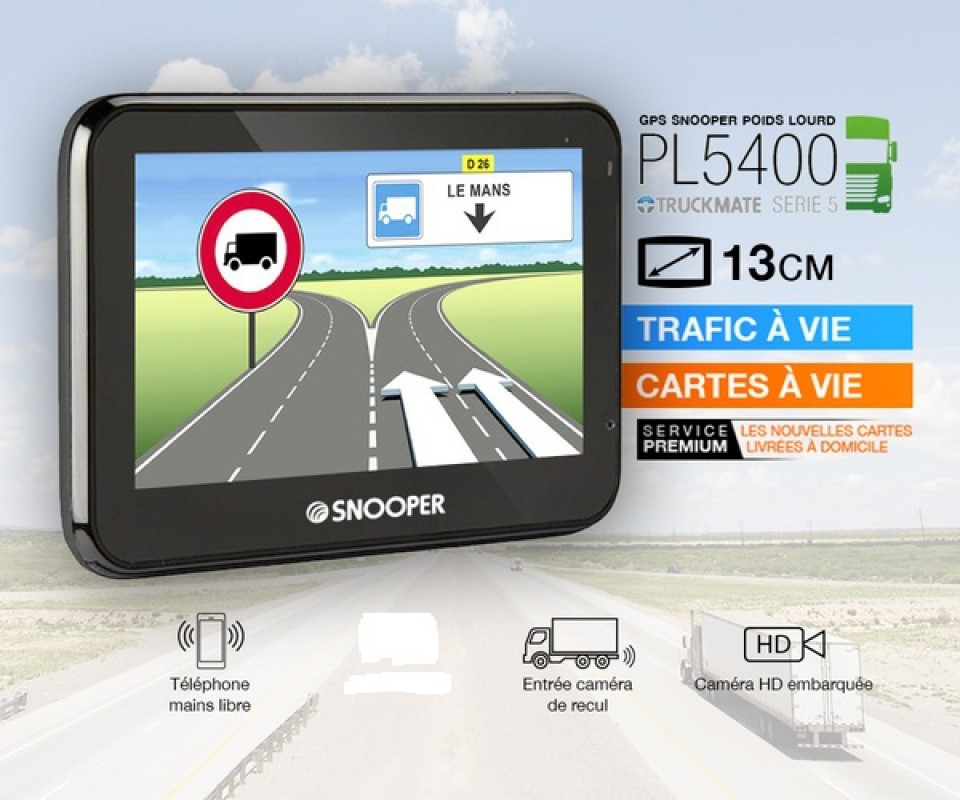 GPS Camion PL5400