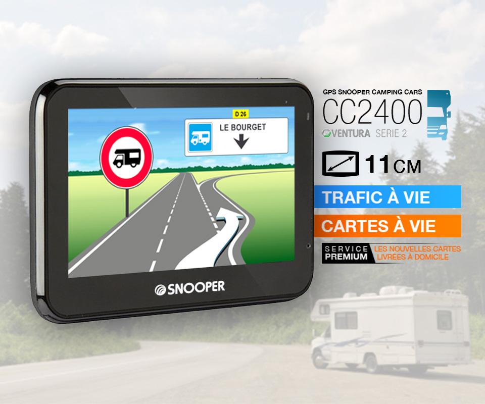 GPS Camping-car CC2400