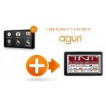 Pack GPS Poids lourd PL7800 + TV 9 Pouces
