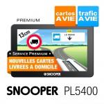 SNOOPER GPS Camion PL5400 5'' - PREMIUM