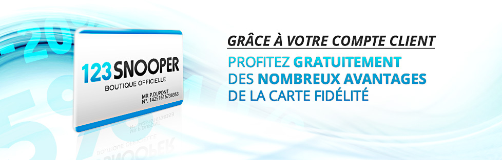 GPS SNOOPER PROMOTION EN BOUTIQUE