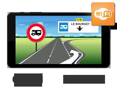 Aguri 7800cc gps camping car wi fi ecran 7 39 - Carte grise 3x sans frais ...