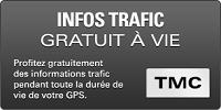 GPS CAMPING CAR SNOOPER CC2400 infos trafic gratuit a vie