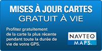 GPS CAMPING CAR SNOOPER CC2400 cartes gratuit a vie