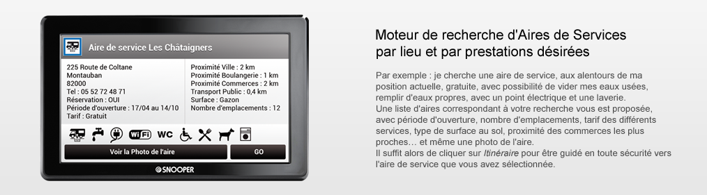 Gps Camping-Car le Comparatif Snooper