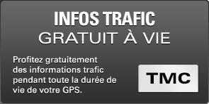 GPS CAMPING CAR SNOOPER CC5200 infos trafic gratuit a vie