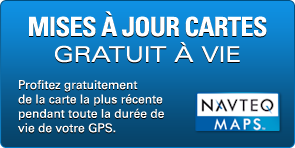 GPS CAMPING CAR SNOOPER CC5400 cartes gratuit a vie