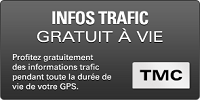 GPS CAMPING CAR SNOOPER CC5400 infos trafic gratuit a vie